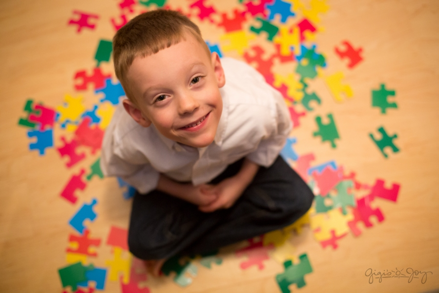 Gigi's Joy- Stories of Autism puzzle