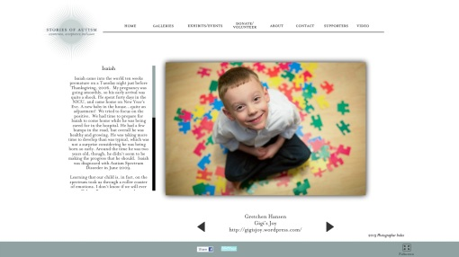 Gigi's Joy: Stories of Autism screen shot
