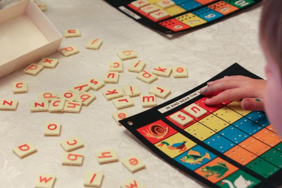 GIgi's Joy: word tiles