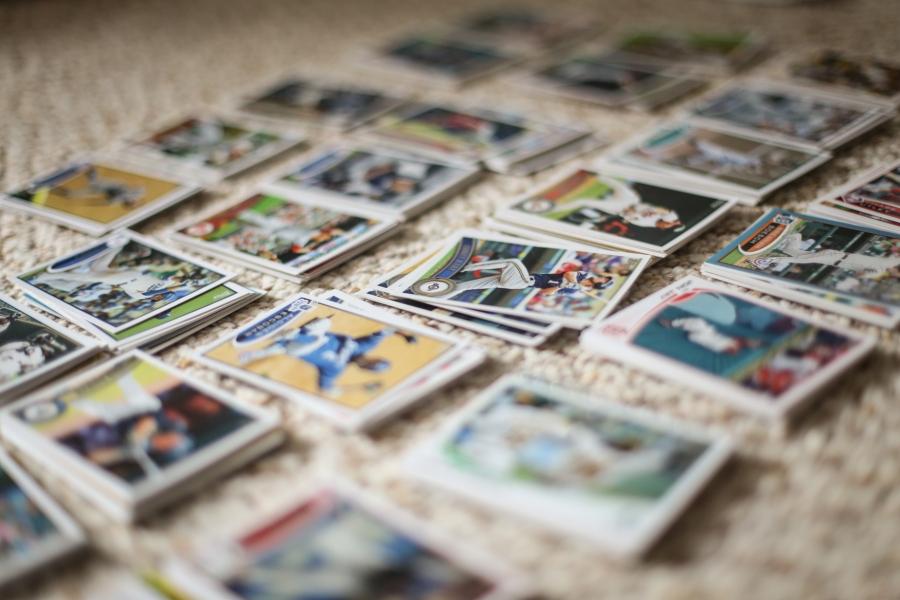 Gigi's Joy: baseball cards