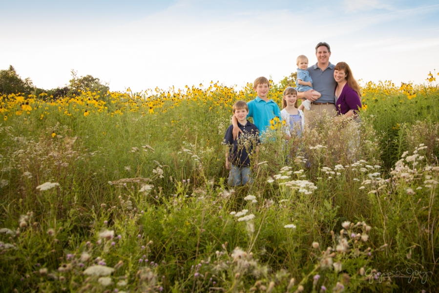 Gigi's Joy: Field of Wildflowers