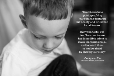 Gigi's Joy Photography: Stories of Autism recommendation
