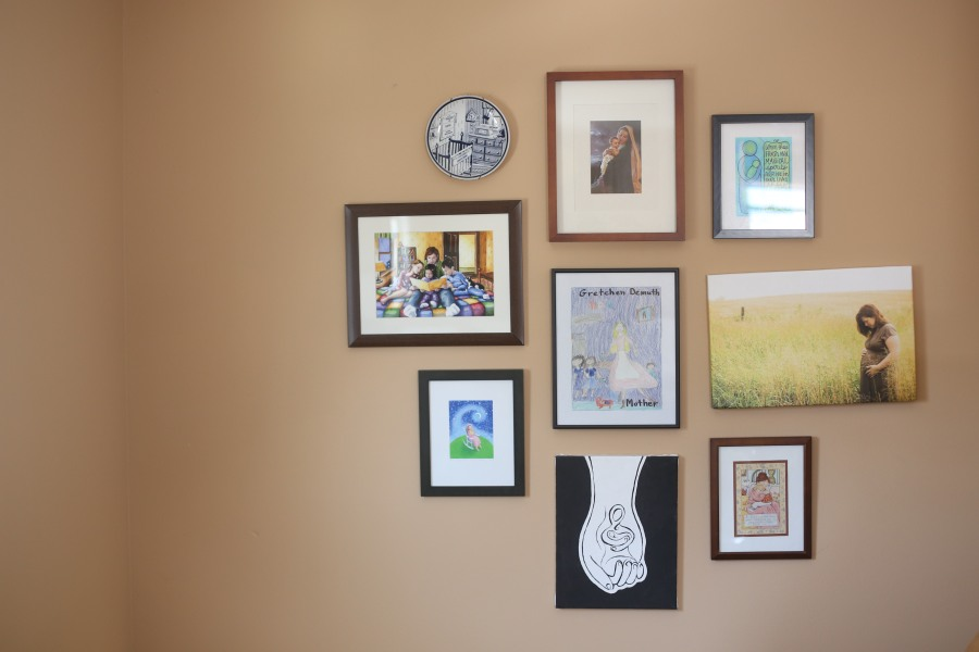 Gigi's Joy: Mother Child Art Wall
