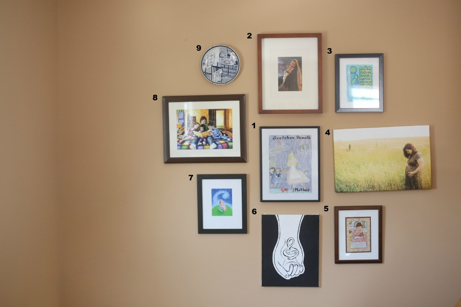 Gigi's Joy: Mother & Child Art Wall