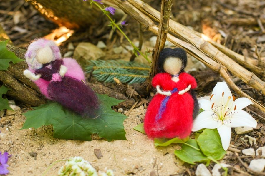 Gigi's Joy: Hil-Mar Farm wool felted fairies and dolls