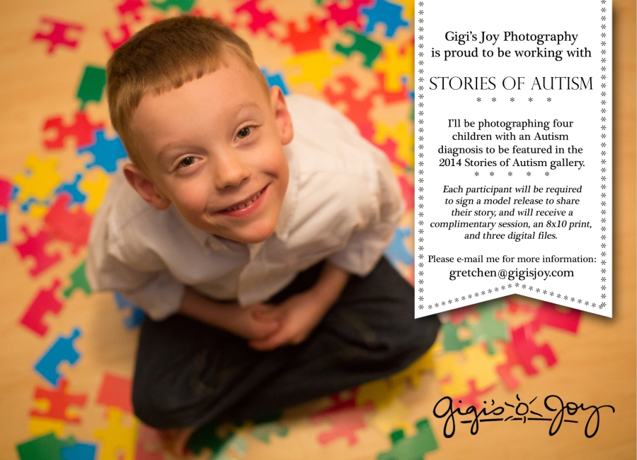 Gigi's Joy Photography: Special Needs Autism Children's Photographer