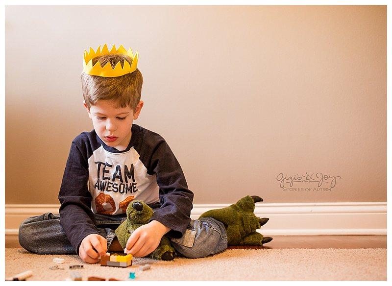 Gigi's Joy Photography: Union Grove Autism Photographer, boy in crown