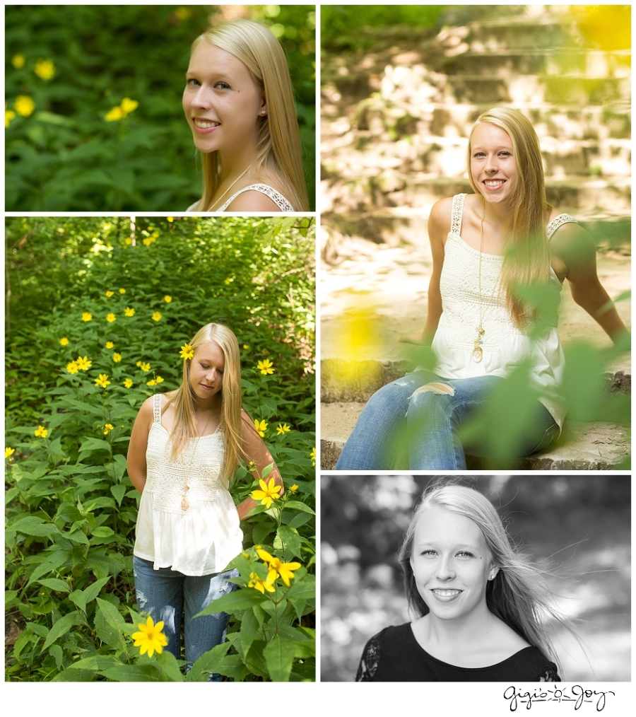 Gigi's Joy Photography: Senior Photographer Racine Seven Bridges Grant Park Milwaukee