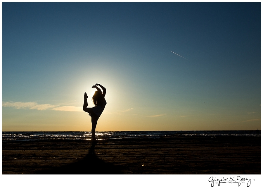 Gigi's Joy Photography: Modern Senior Photographer Racine silhouette North Beach