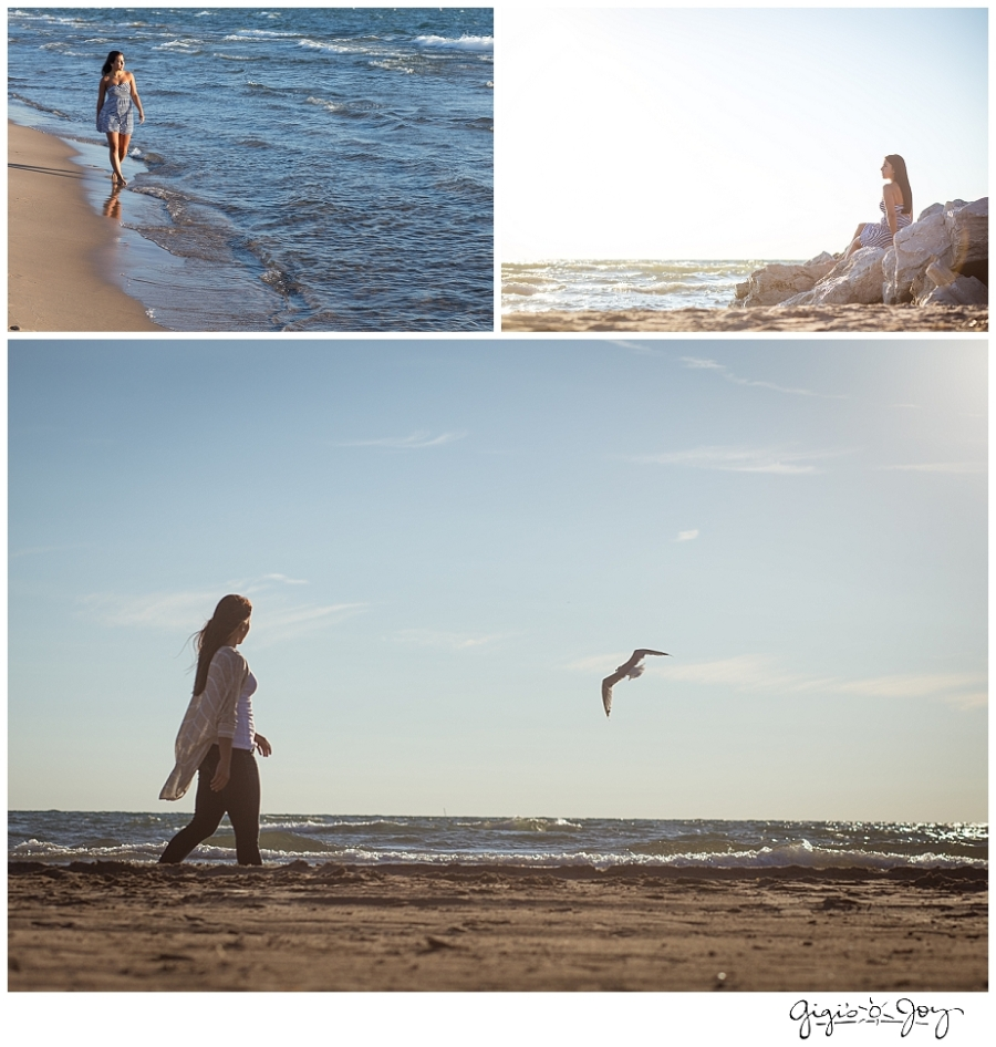 Gigi's Joy Photography: Senior Photographer Kenosha Lake Michigan beach