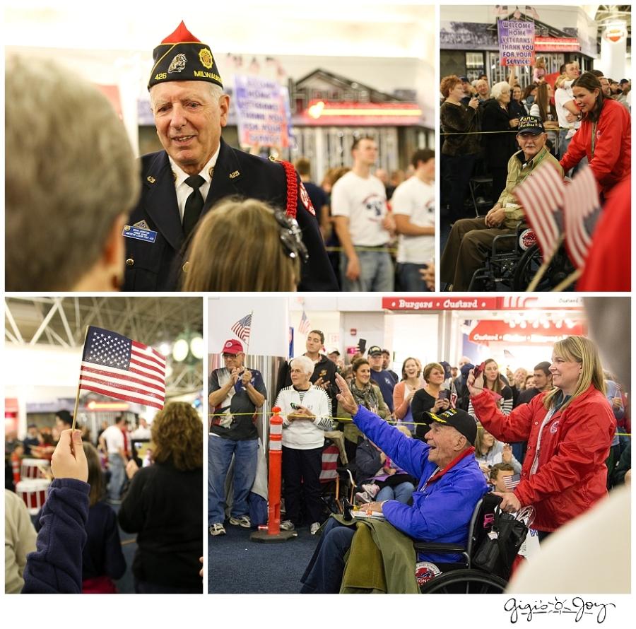 Gigi's Joy Photography Honor Flight Milwaukee