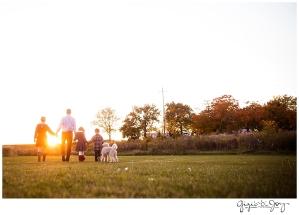 Gigi's Joy Photography: Family Lifestyle Photographer Burlington sunset