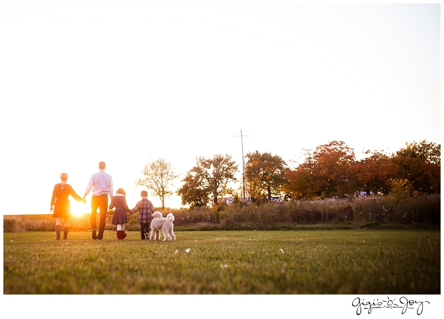 Gigi's Joy Photography: Family Lifestyle Photographer Burlington sunset