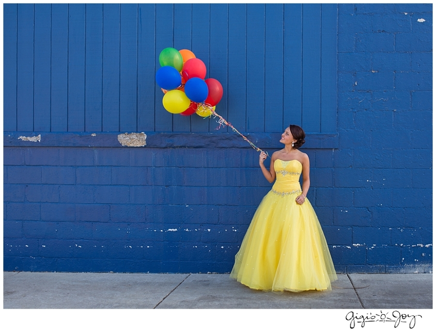 Gigi's Joy Photography: Union Grove Senior Photographer Racine Balloons Prom