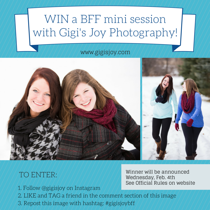 Gigi's Joy photography - Best friends mini shoot giveaway
