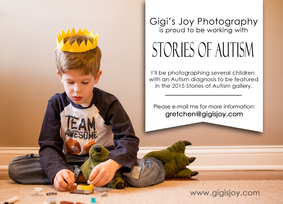 Gigi's Joy Photography: Stories of Autism Special Needs Photographer Racine Kenosha