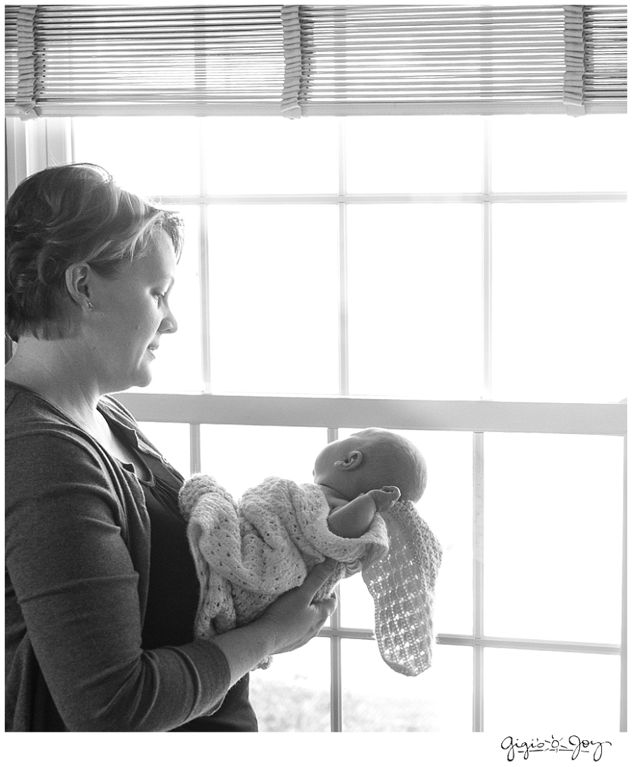 Gigi's Joy Photography: Newborn Lifestyle Photographer Kenosha mother baby
