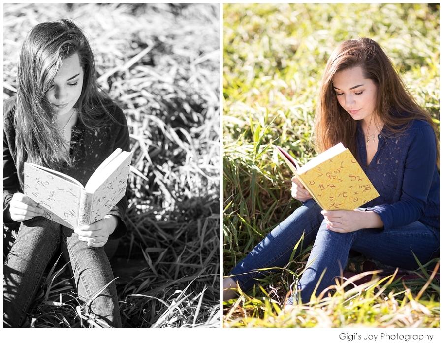 Gigi's Joy Photography: Racine Senior Photographer Reading Books