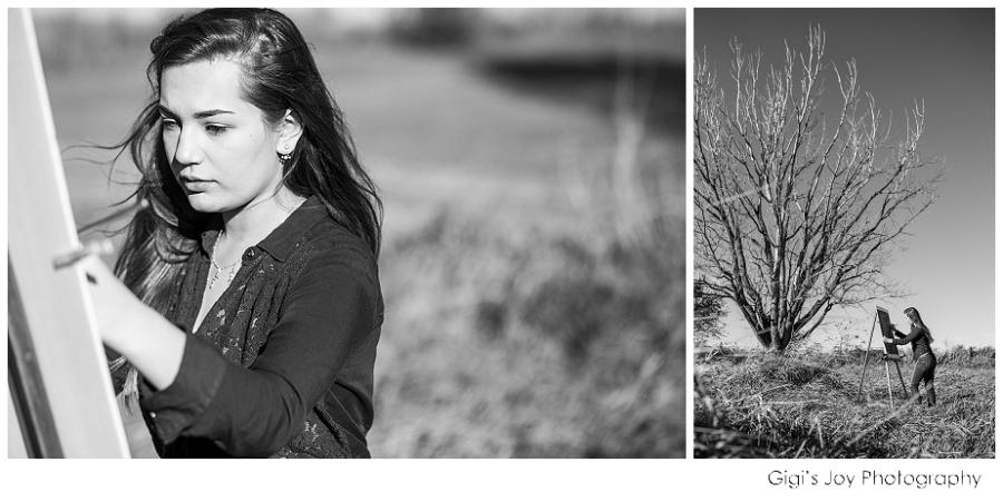 Gigi's Joy Photography: Racine Senior Photographer art artist