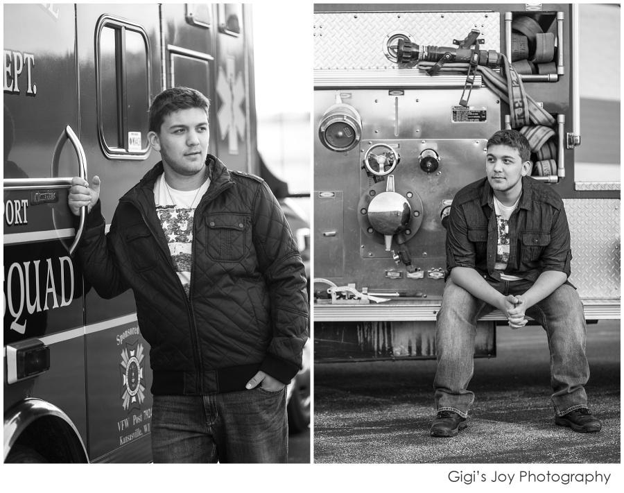 Wisconsin high school senior photographer Racine Gigi's Joy Photography