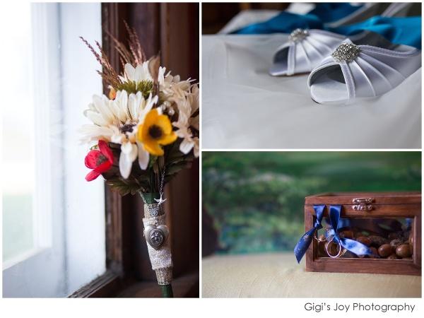 Union Grove photographer outdoor wedding artistic portrait details