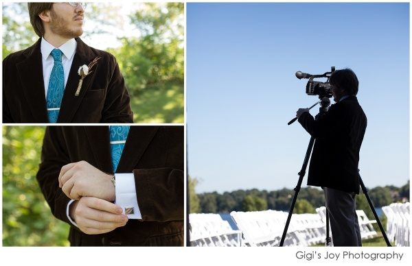 Union Grove photographer outdoor wedding artistic portrait groom filmmaker