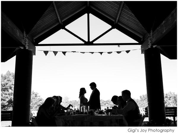Union Grove photographer outdoor wedding artistic portrait pavillion