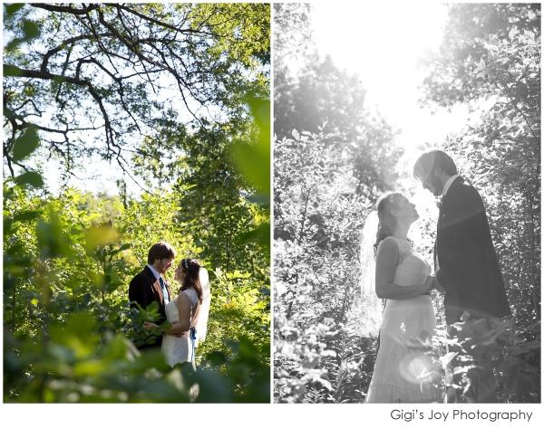 Union Grove photographer outdoor wedding artistic portrait