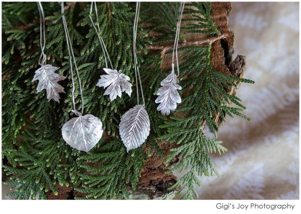 Union Grove photographer John Morgan Panchyshyn custom necklace leaf