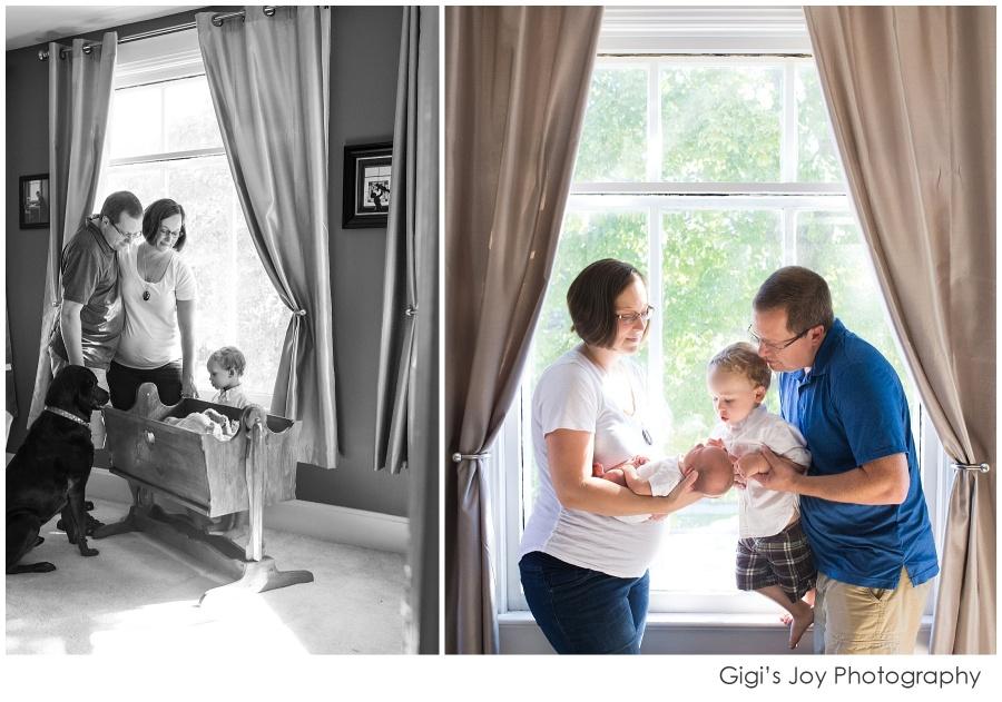 Burlington baby photography lifestyle documentary Kenosha