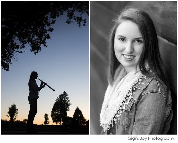 Racine senior high school photography Milwaukee Kenosha silhouette
