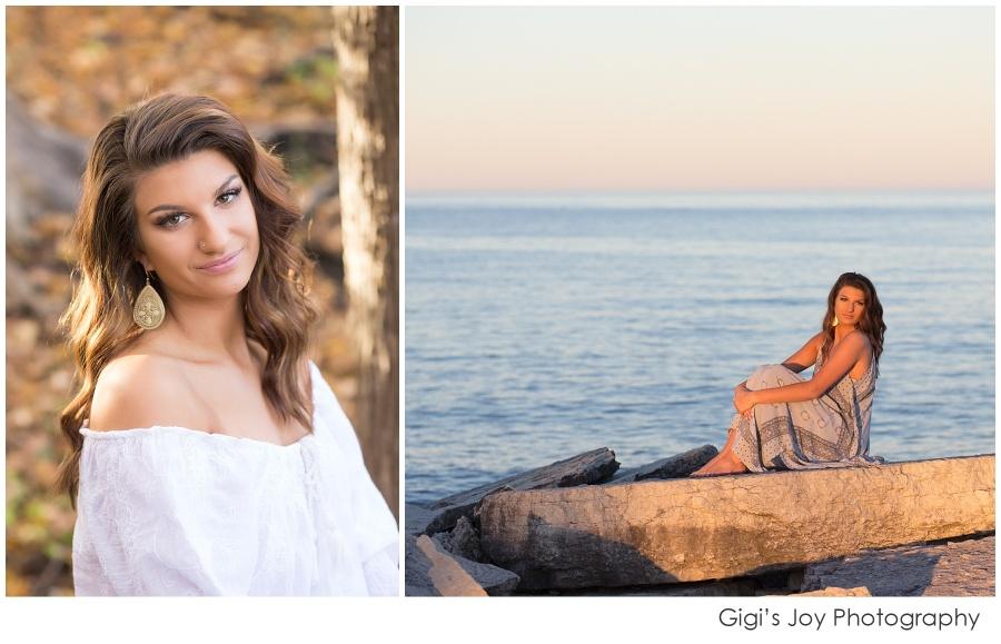 Burlington Senior Racine High School Photographer Wisconsin lifestyle lake
