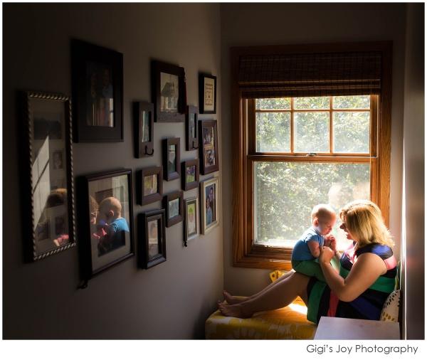 Kenosha documentary family photographer Baby newborn Waterford