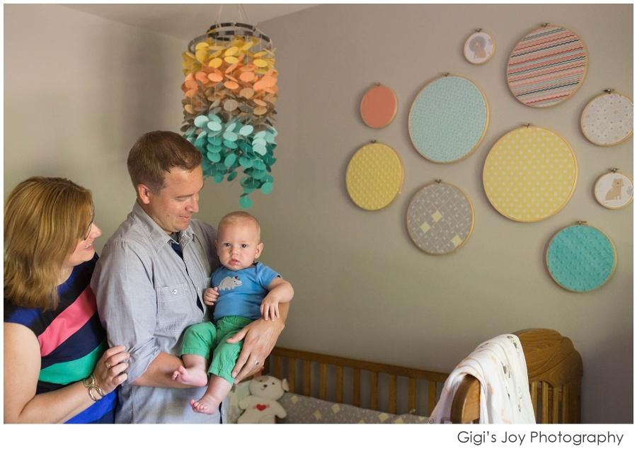 Racine documentary family photographer Baby newborn Burlington