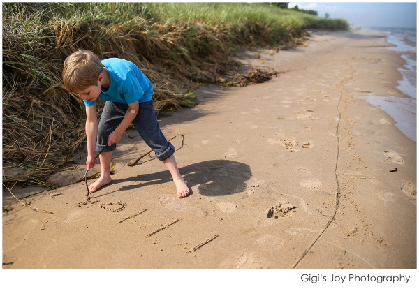 Lifestyle Photography beach camping Kohler Andrae State Park Racine Milwaukee
