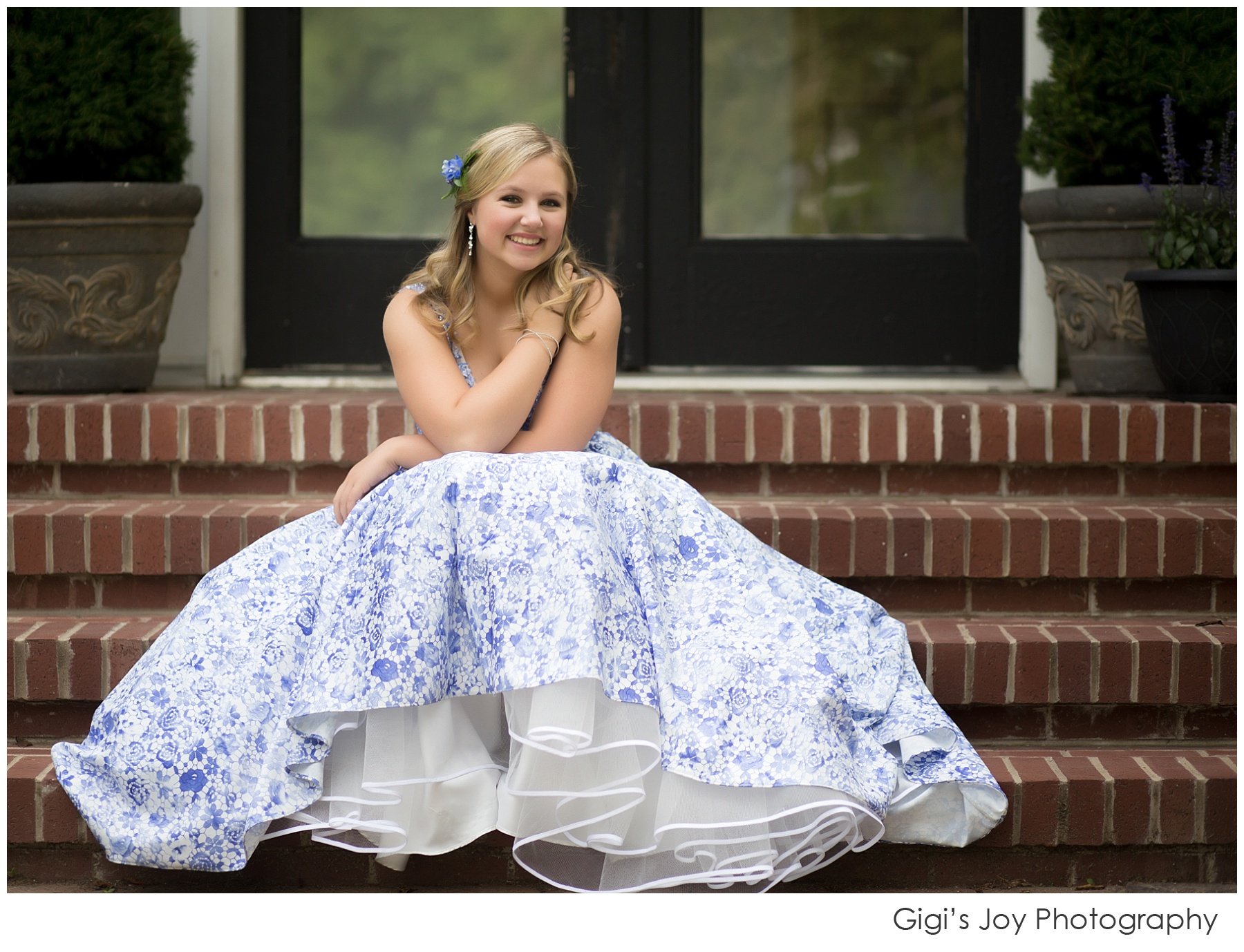 Kenosha high school teen portrait prom